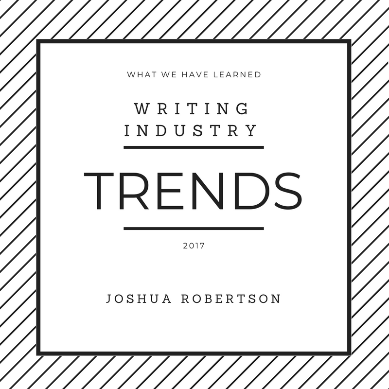 writing industry trends
